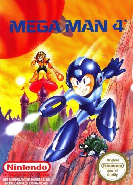 Echanger le jeu Mega Man 4 sur NES