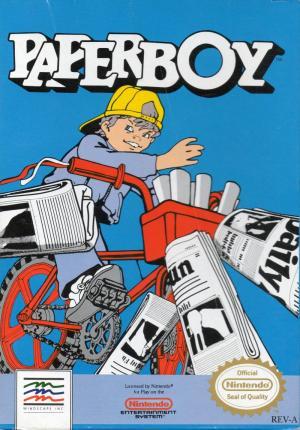 Echanger le jeu Paperboy sur NES