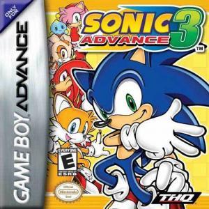 Echanger le jeu Sonic Advance 3 sur GBA