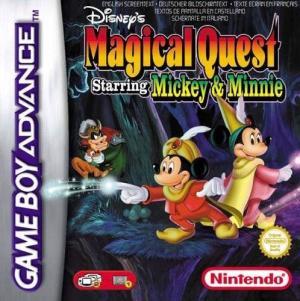 Echanger le jeu Disney's Magical Quest  sur GBA
