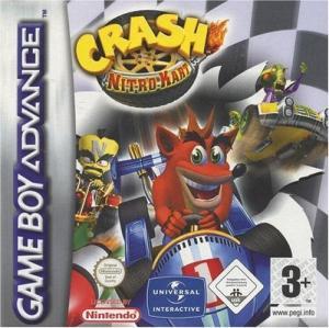 Echanger le jeu Crash Nitro Kart sur GBA