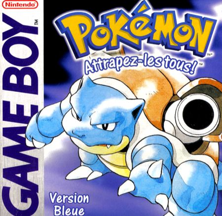 Echanger le jeu Pokémon Version bleue sur GAMEBOY