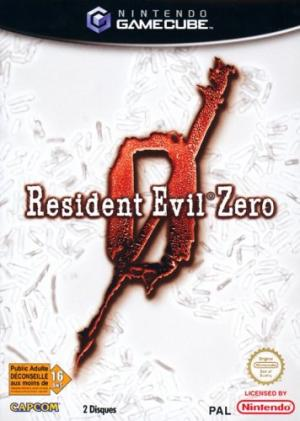 Echanger le jeu Resident Evil Zero  sur GAMECUBE