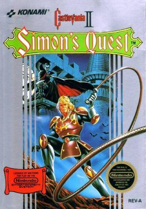 Echanger le jeu Castlevania 2 sur NES