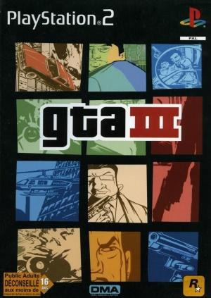 Echanger le jeu GTA III  sur PS2