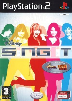 Echanger le jeu Disney Sing It sur PS2