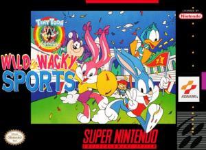 Echanger le jeu Tiny Toon Wild Wacky Sports sur SUPER NES