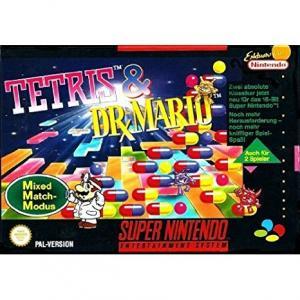 Echanger le jeu Tetris Et Dr Mario sur SUPER NES