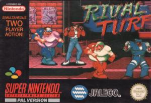 Echanger le jeu Rival Turf  sur SUPER NES
