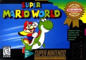 Echanger le jeu Super Mario World sur SUPER NES