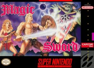 Echanger le jeu Magic Sword  sur SUPER NES