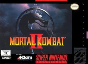 Echanger le jeu Mortal Kombat 2  sur SUPER NES