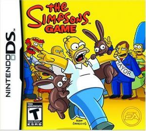 Echanger le jeu Les  Simpson le jeu sur Ds