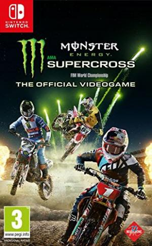 Echanger le jeu Monster Energy Supercross sur Switch