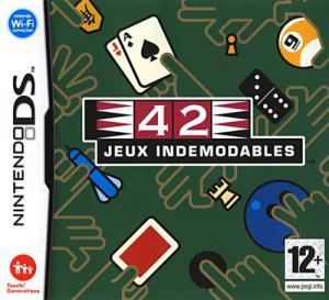 Echanger le jeu 42 jeux indémodables sur Ds