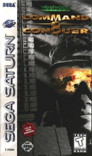 Echanger le jeu Command & Conquer sur SATURN