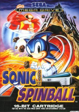 Echanger le jeu Sonic Spinball  sur MEGADRIVE