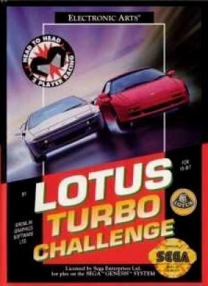 Echanger le jeu Lotus Turbo Challenge sur MEGADRIVE