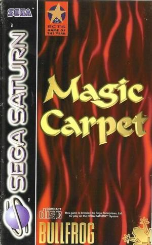 Echanger le jeu MAGIC CARPET  sur SATURN