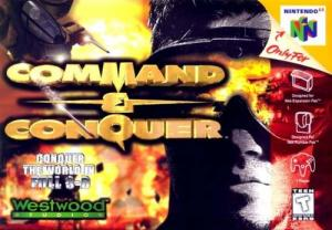 Echanger le jeu Command & Conquer sur N64