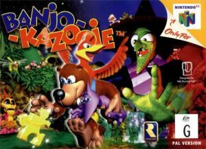 Echanger le jeu Banjo-Kazooie sur N64