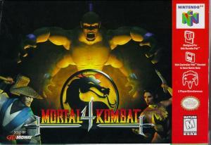 Echanger le jeu Mortal Kombat 4  sur N64