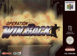 Echanger le jeu Winback sur N64