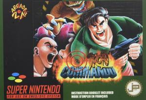 Echanger le jeu Iron Commando  sur SUPER NES