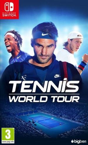 Echanger le jeu Tennis World Tour sur Switch