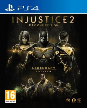 Echanger le jeu INJUSTICE 2 - Legendary Edition sur PS4