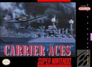 Echanger le jeu Carrier Aces sur SUPER NES