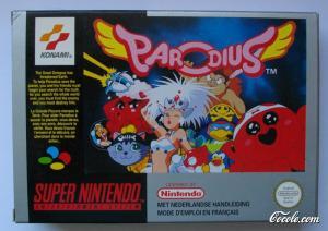 Echanger le jeu Parodius sur SUPER NES