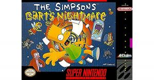 Echanger le jeu The Simpsons Bart's Nightmare  sur SUPER NES