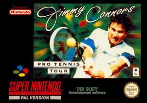 Echanger le jeu Jimmy Connors Pro Tennis Tour  sur SUPER NES