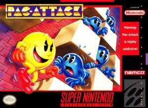 Echanger le jeu Pac-Attack sur SUPER NES