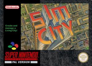 Echanger le jeu Sim City sur SUPER NES