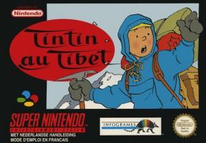 Echanger le jeu Tintin Au Tibet sur SUPER NES