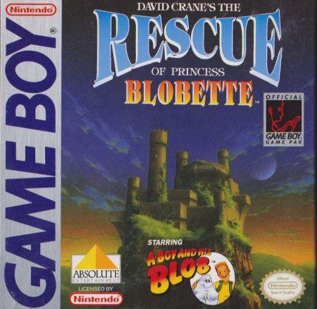 Echanger le jeu David Crane's The Rescue of Princess Blobette sur GAMEBOY