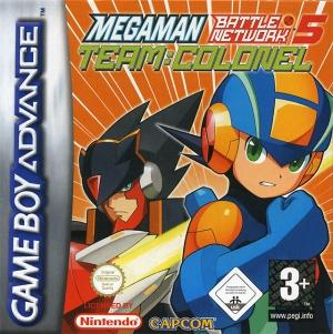 Echanger le jeu Mega Man Battle Network 5 Team Colonel sur GBA