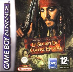 """Echanger le jeu Pirates des Caraïbes 2 """"le secret du coffre maudit""""  sur GBA"""
