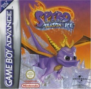 Echanger le jeu Spyro Season Of Ice sur GBA