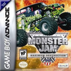 Echanger le jeu Monster Jam: Maximum Destruction sur GBA