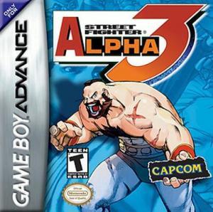 Echanger le jeu Street Fighter Alpha 3  sur GBA