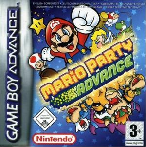 Echanger le jeu Mario Party Advance sur GBA