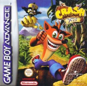Echanger le jeu Crash Bandicoot XS sur GBA