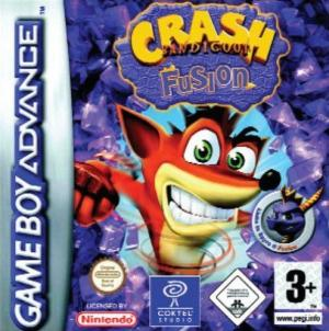 Echanger le jeu Crash Bandicoot Fusion sur GBA