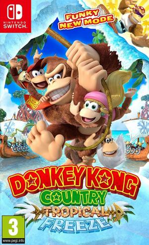 Echanger le jeu Donkey Kong Country: Tropical Freeze sur Switch