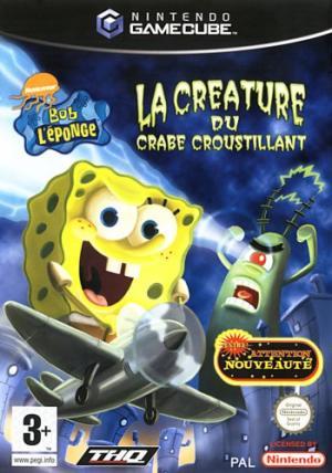 Echanger le jeu Bob L'éponge : La créature du crabe croustillant sur GAMECUBE