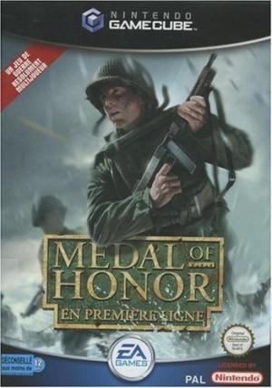 Echanger le jeu Medal of Honor : En premiere ligne sur GAMECUBE