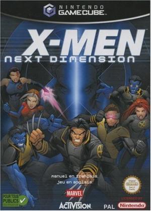 Echanger le jeu X-Men Next Dimension sur GAMECUBE